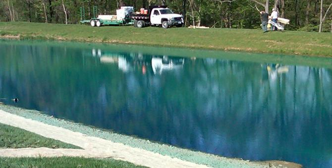 Pond Dye Is It A Waste Of Money Platinum Ponds Amp Lake
